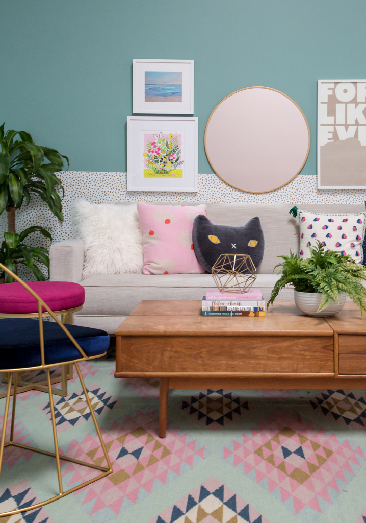 How To Style Wallpaper / Oh Joy!