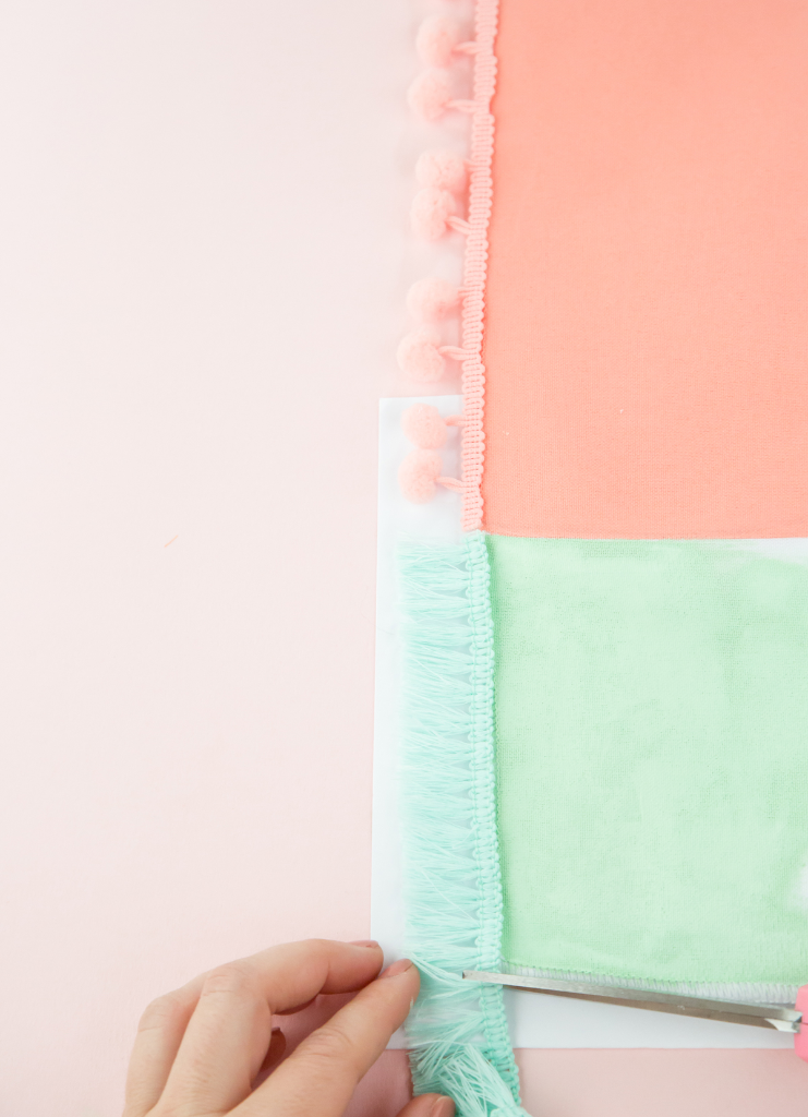 How To Make a DIY Geometric Table Runner / Oh Joy!