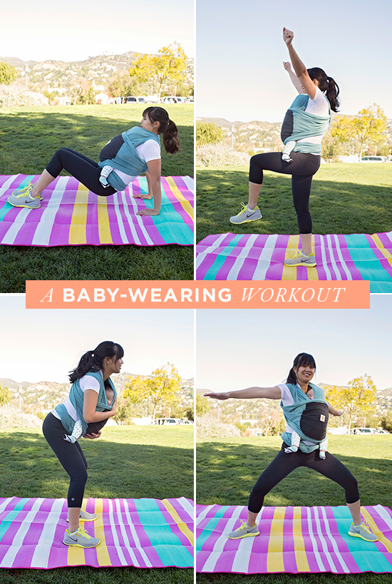 A Baby-Wearing Workout