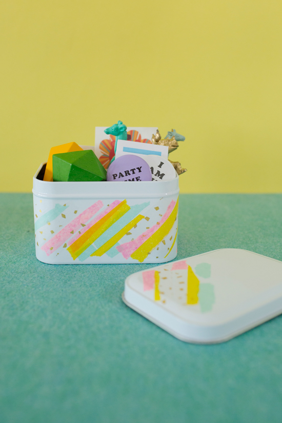 Easter Tin DIY