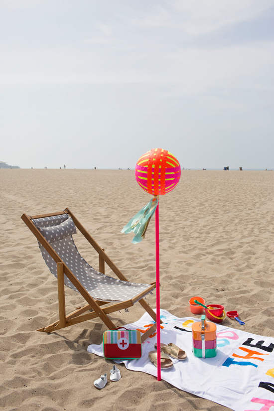DIY Beach Marker