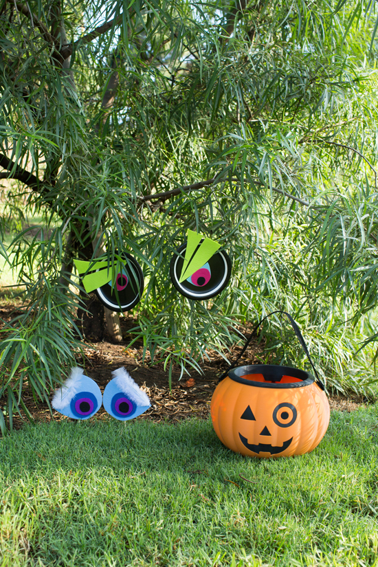Silly Halloween Monster Eyes DIY