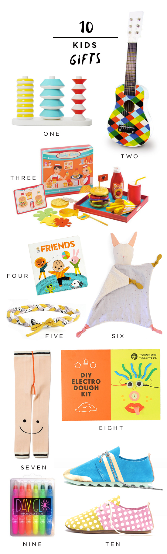 10 Kids Gifts