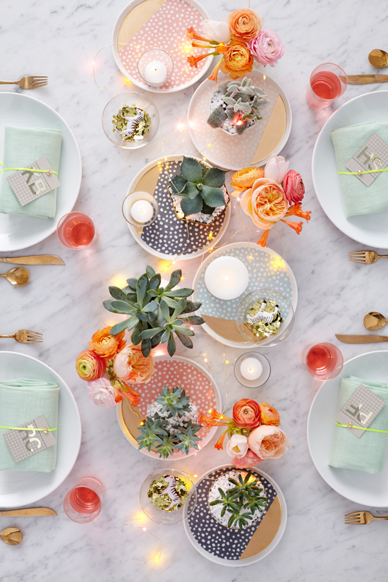 Feest styling | Zomer feest in je interieur - Woonblog StijlvolStyling.com