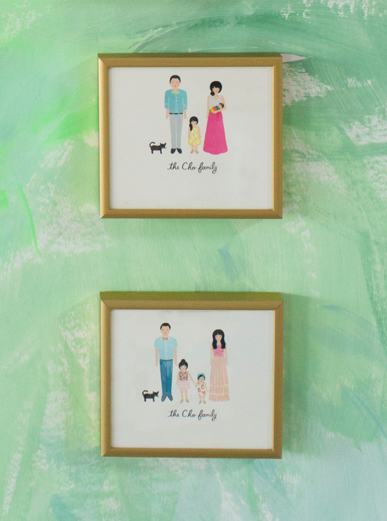 Oh Joy Family Portrait by Rifle Paper Co.