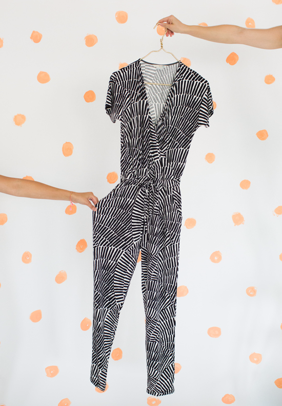 dressing the team / a jumpsuit