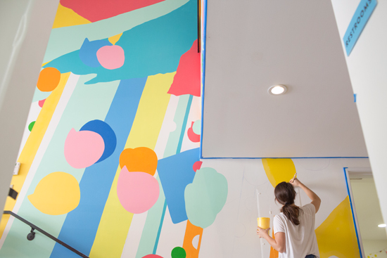 Mural by Oh Joy for the Southern California Children's Museum