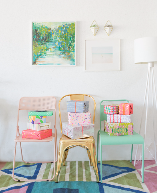 what to do with extra chairs around your house!