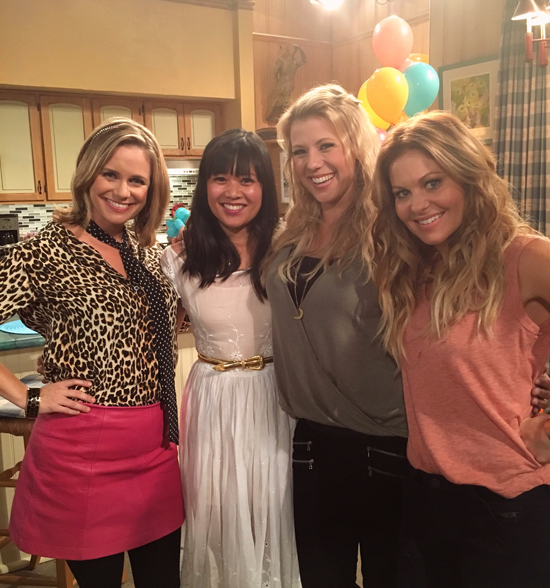 Oh Joy on Fuller House Set
