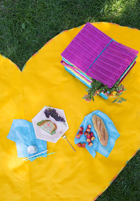 Oh Joy Heart Shaped Picnic Mat