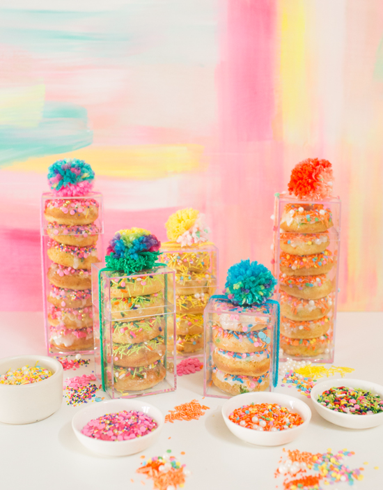 Sprinkle Party Donuts Oh Joy