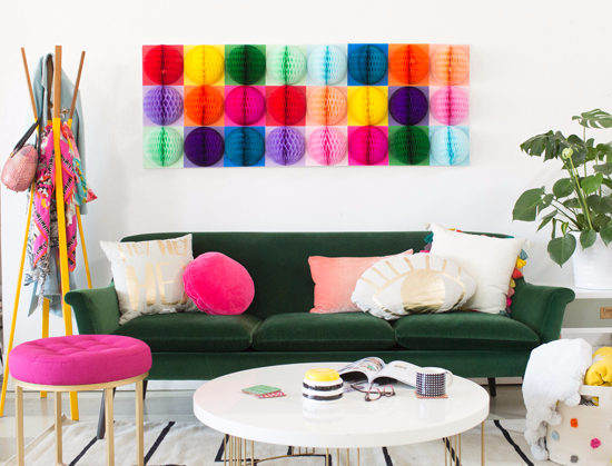 Oh Joy / Honeycomb Wall Decor