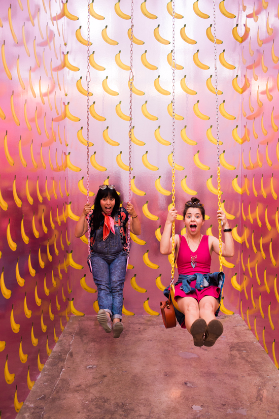 oh joy team field trip: museum of ice cream
