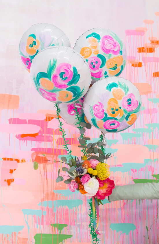 a balloon bouquet for mother\'s day! - Oh Joy!