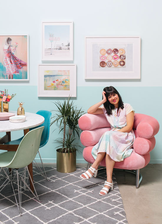 from dress to room: pastels