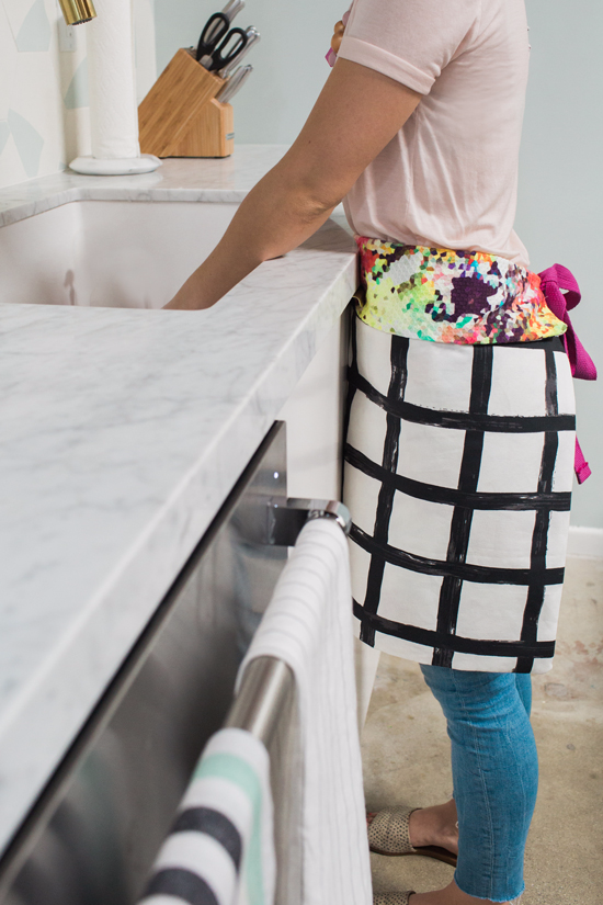 reversible apron diy