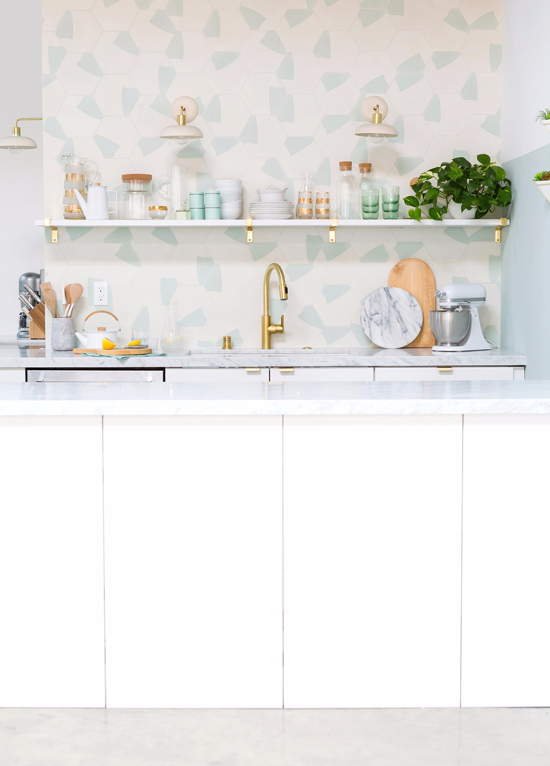 the oh joy studio kitchen