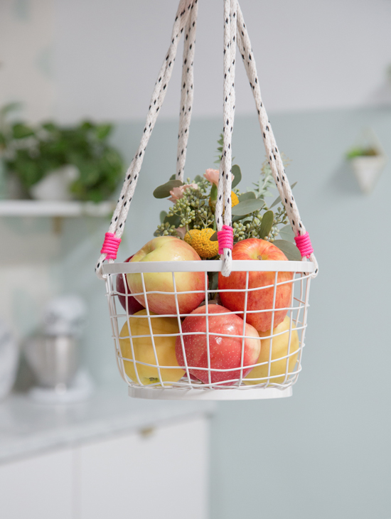 apple basket diy / oh joy