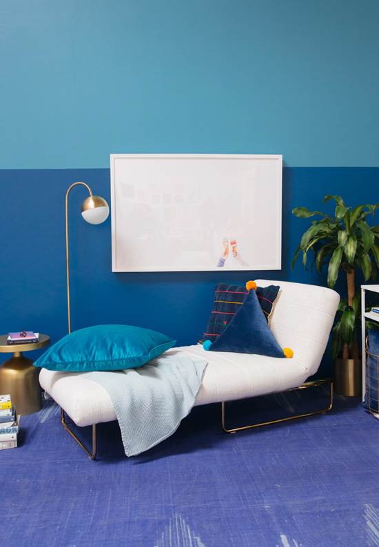 Oh Joy Color Adventures: A Blue Lounge