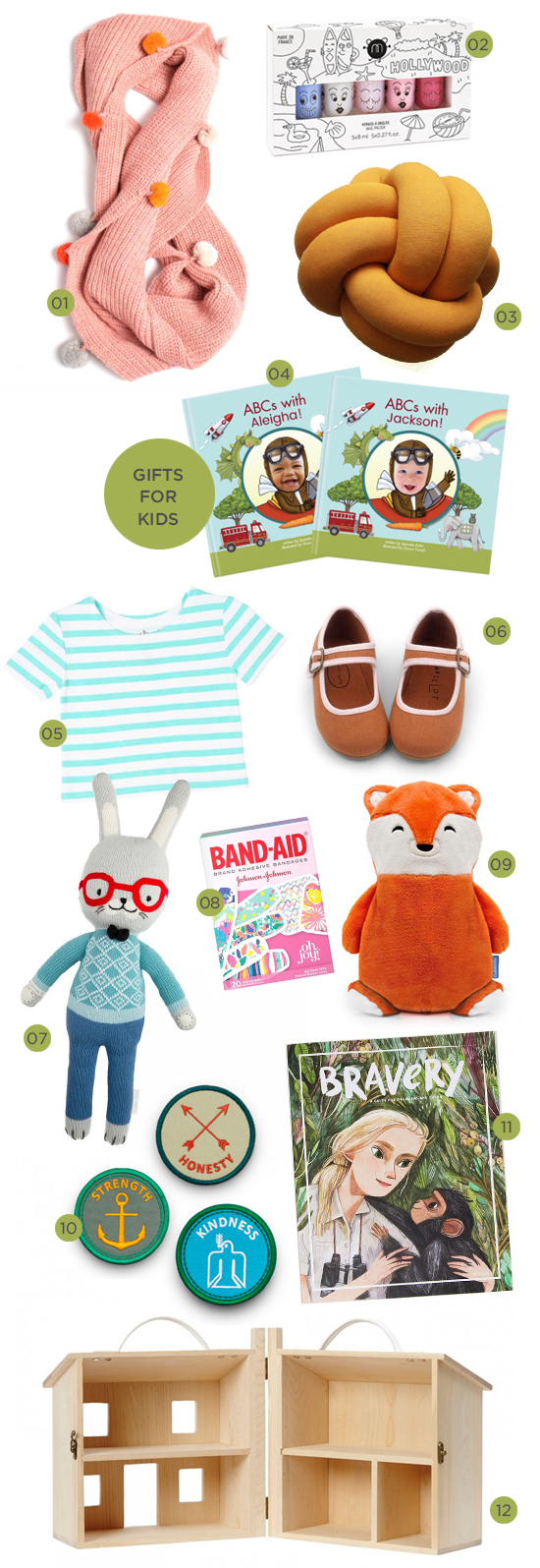 oh joy gift guide: gifts for kids!