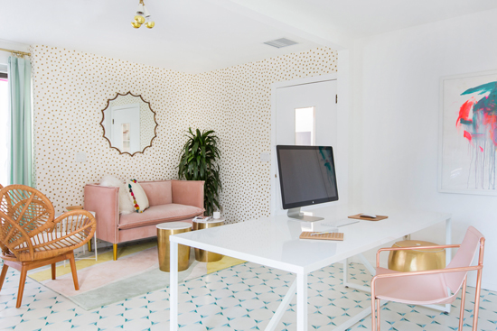 Oh Joy Executive Office / Designed by Sarah Sherman Samuel