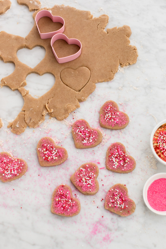 DIY Heart Cookie Sandwiches... / Oh Joy!