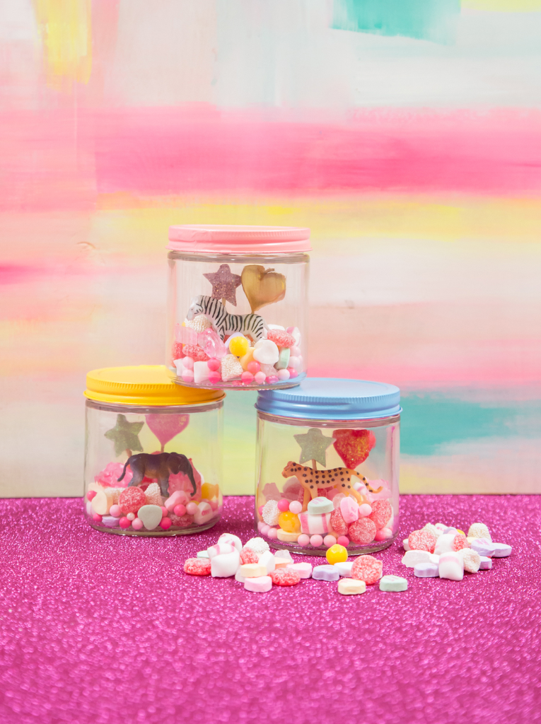 a valentine's day candy terrarium / oh joy!