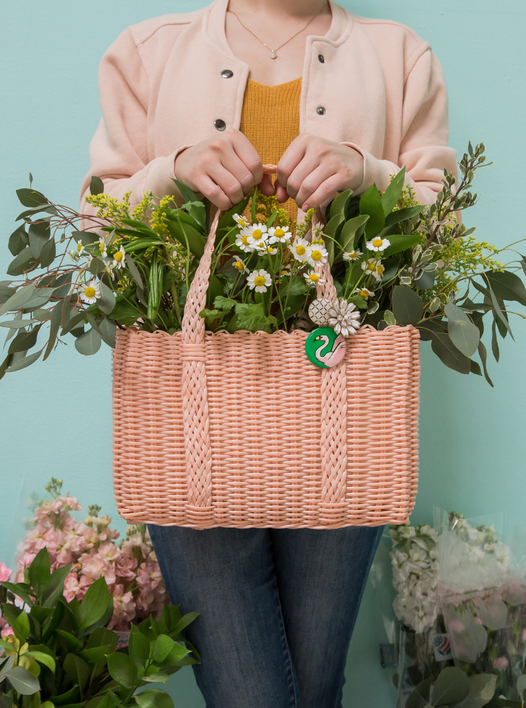 Floral Basket DIY... / Oh Joy!