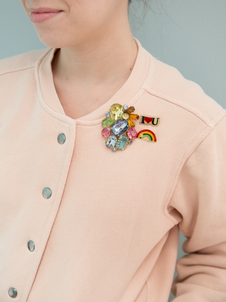 happy friday + vintage brooches    - Oh Joy!
