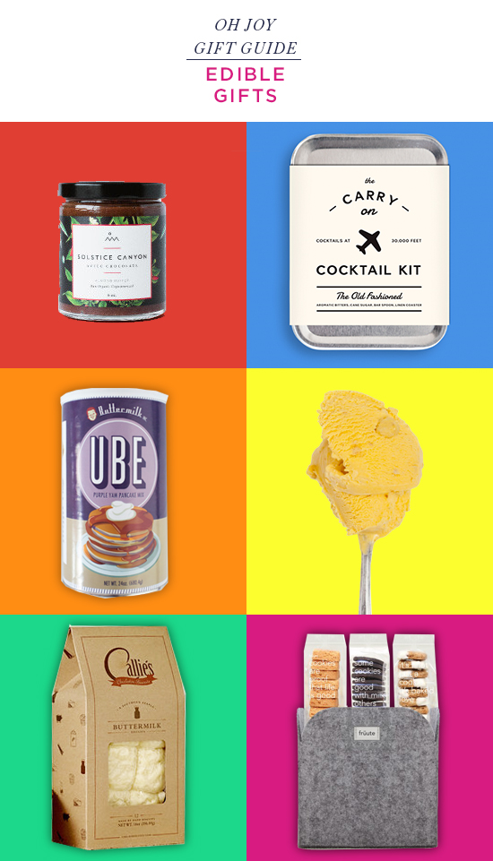 Oh Joy / Edible Gift Guide