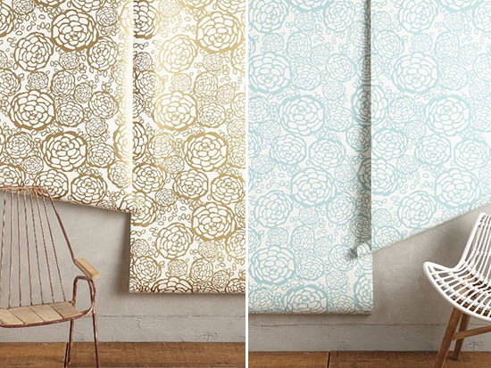 Oh Joy Petal Pusher Wallpaper / at Anthropologie