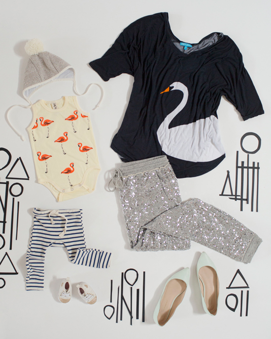 Dressing the Babe / Mama and Me Style