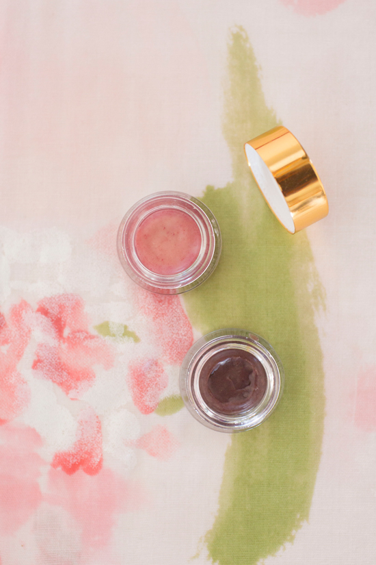 Homemade Tinted Lip Balm Using Natural Ingredients