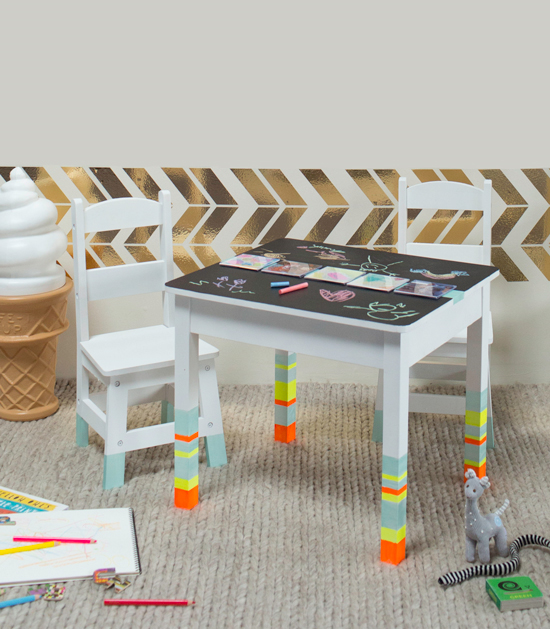 Oh Joy / DIY Kid's Art Table