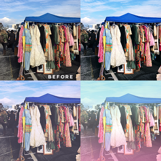 A Color Story - Vintage Clothing