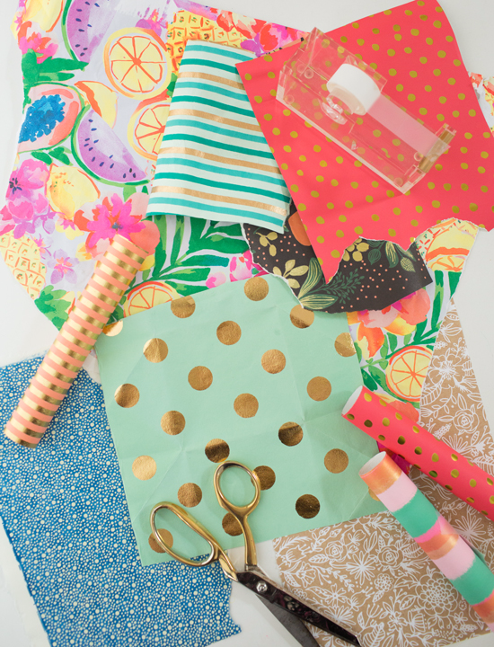 What To Do With Leftover Wrapping Paper Oh Joy