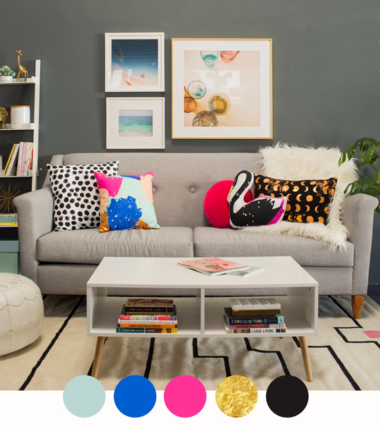 3 Color Combinations for Your Living Room