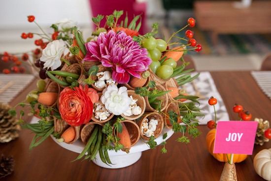 A Sweet Thanksgiving Centerpiece