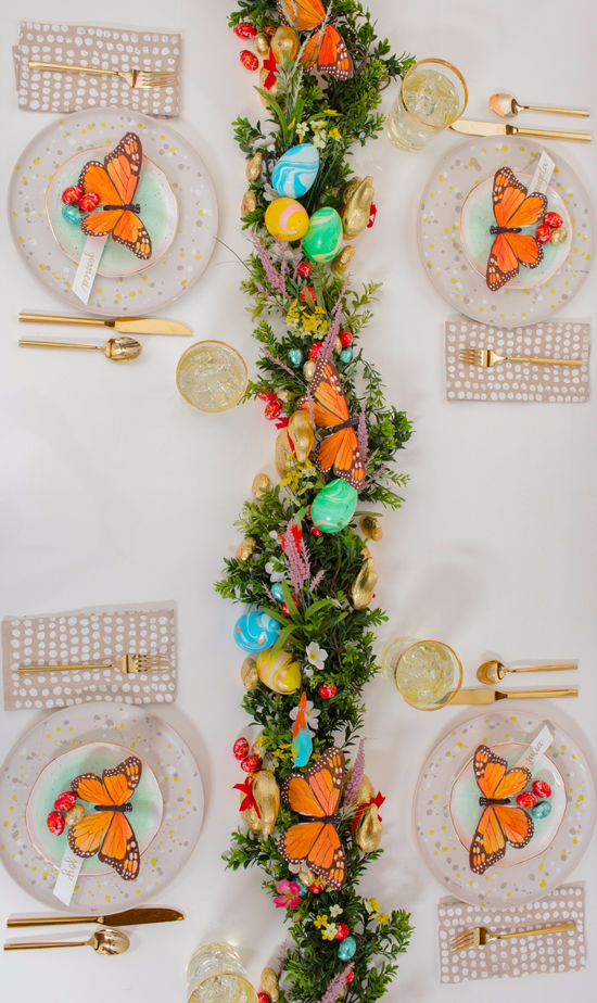 a flora and fauna easter brunch