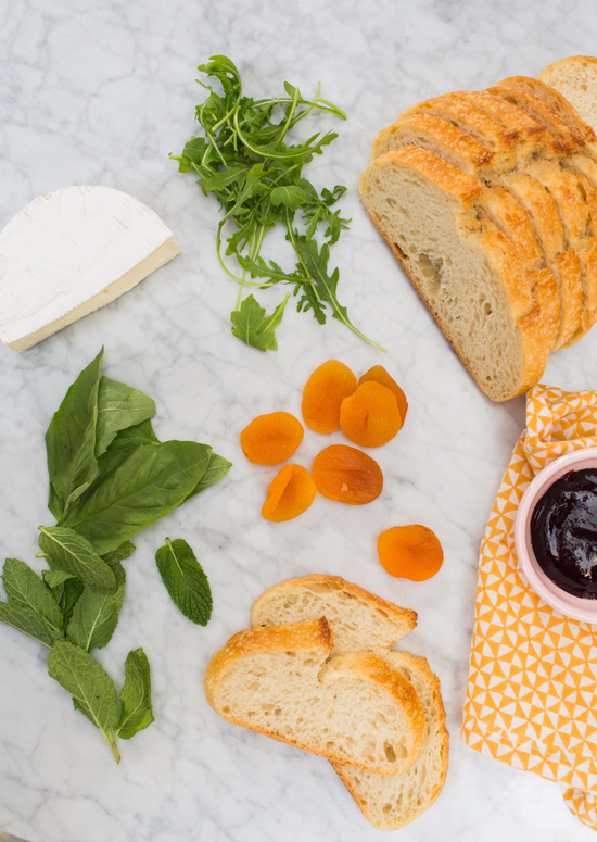 Brie, Apricot, & Blackberry Grilled Cheese