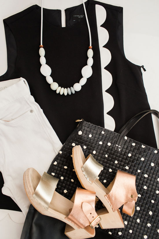 Color Adventures: Black and White Outfits