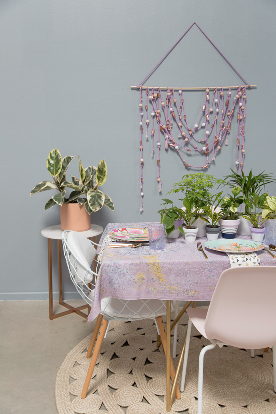 Oh Joy / Purple and Grey Table!