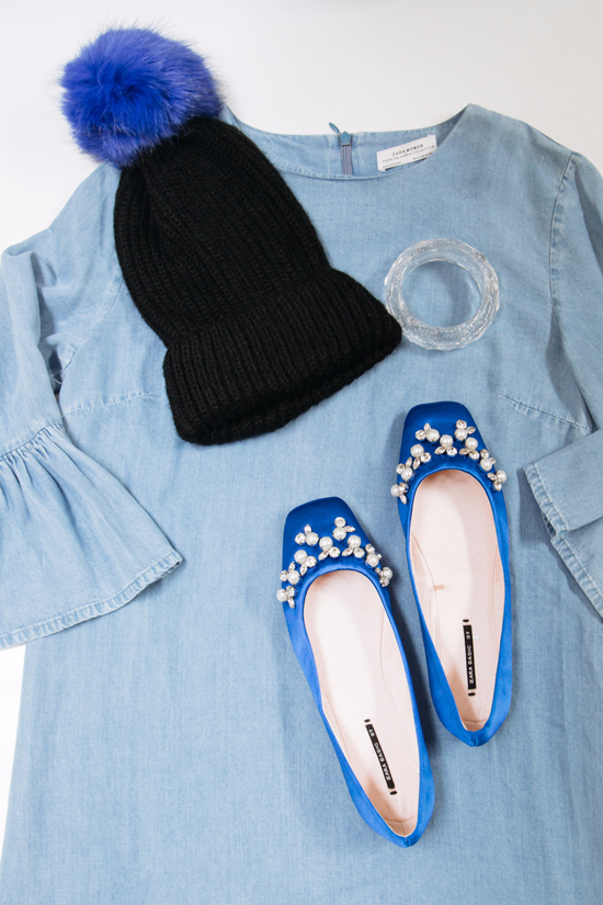 color adventures: wearing blue on blue