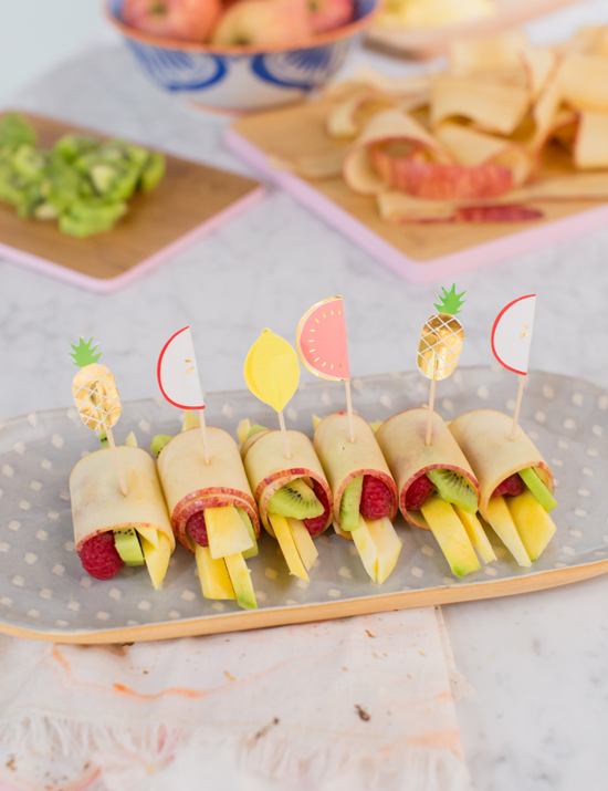 Fruit Hand Rolls / Oh Joy!