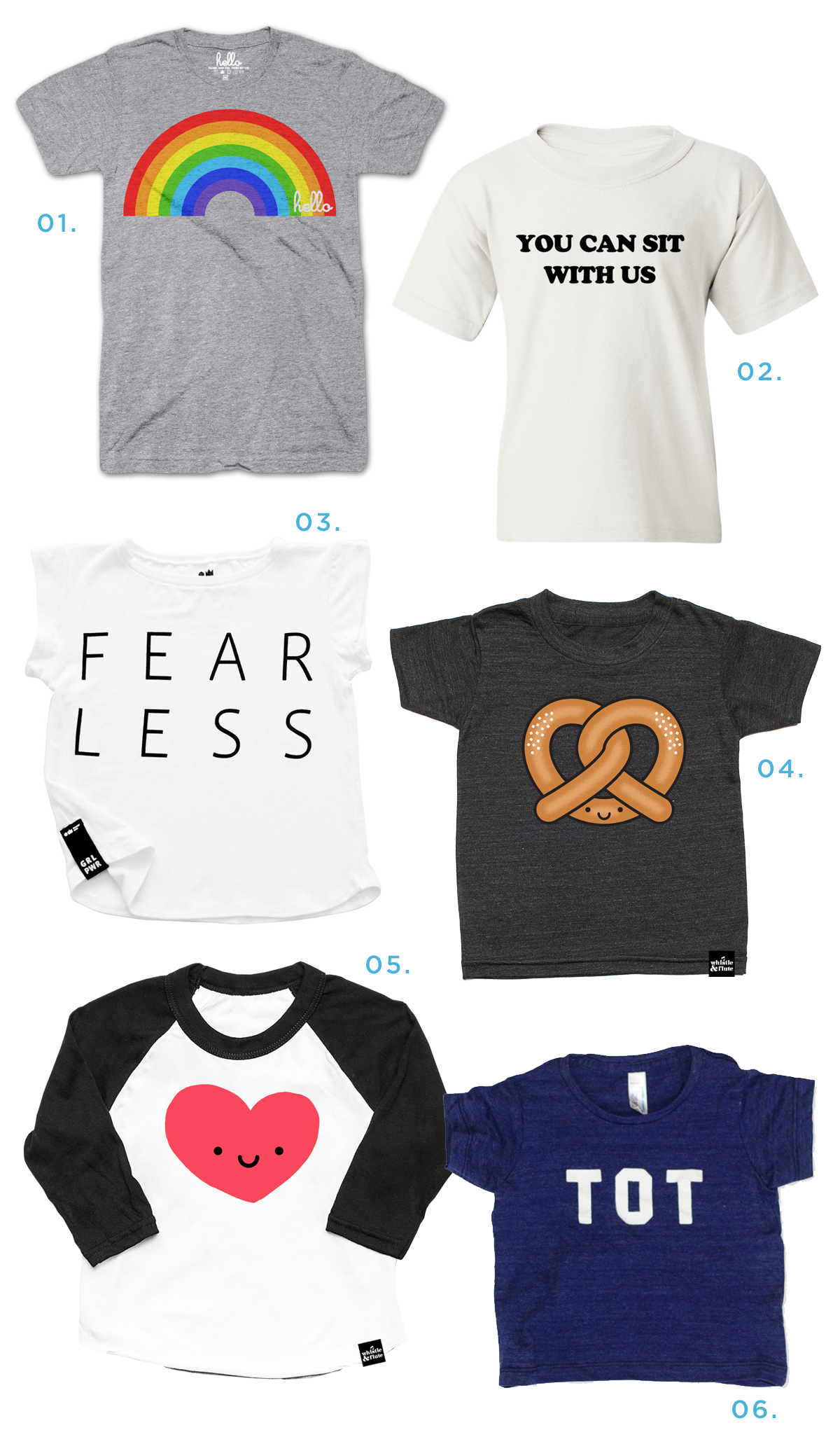 5e9d09ade cool kids' graphic tees... - Oh Joy!
