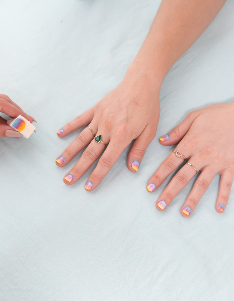 Ombre Nail Art with Olive & June / Oh Joy!
