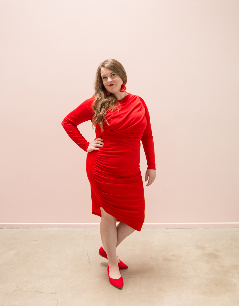 How to Wear Red on Red / Oh Joy!