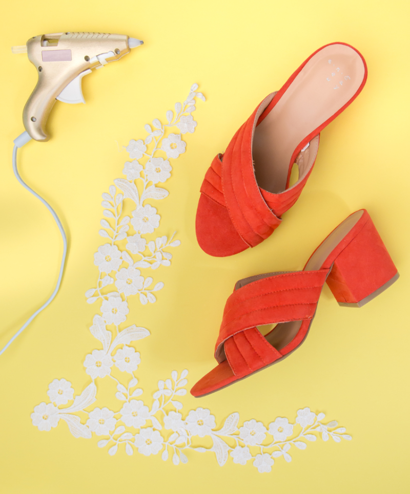 Lace Heels DIY / Oh Joy!