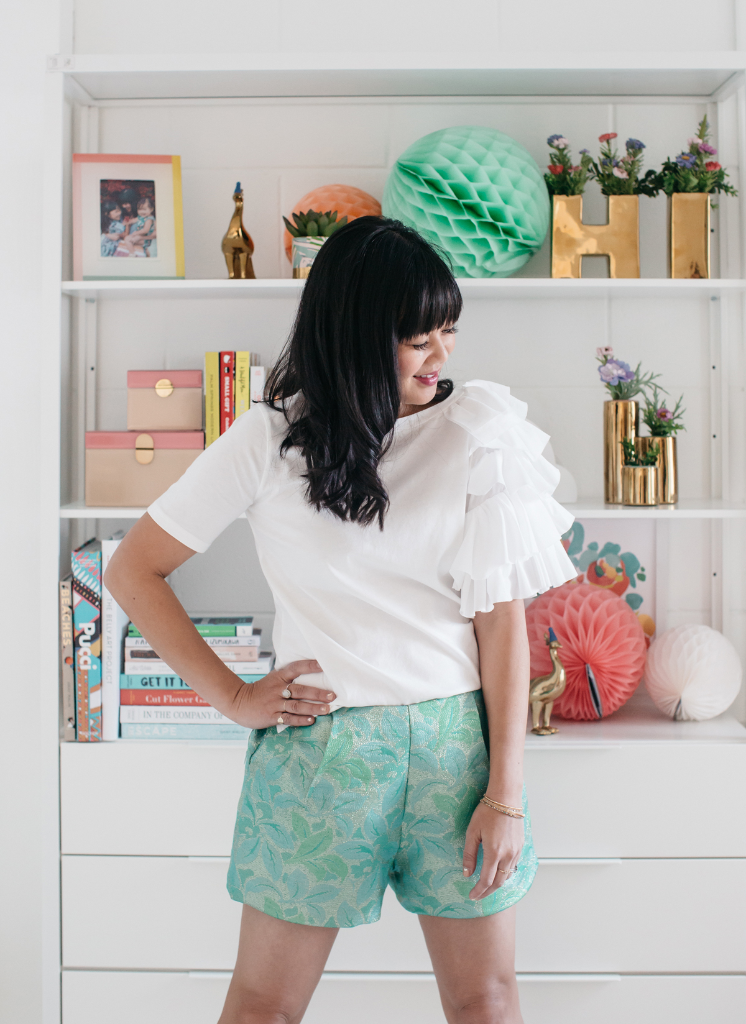 How to make shorts sophisticated / Oh Joy!