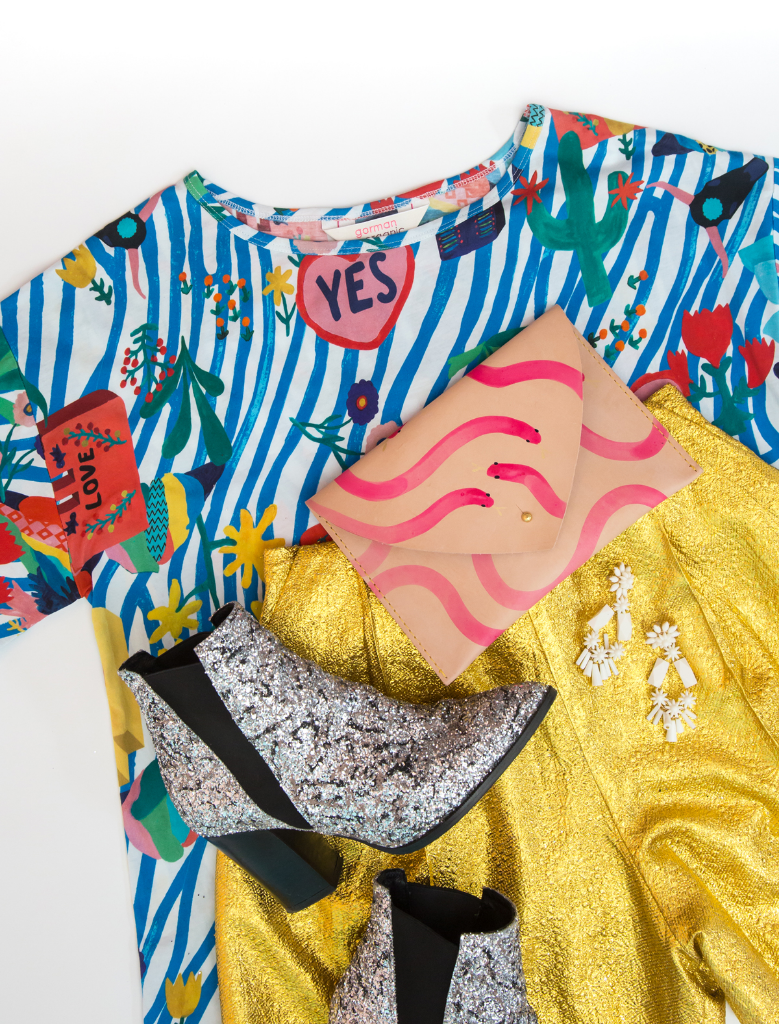How to Wear Abstract Patterns / Oh Joy!
